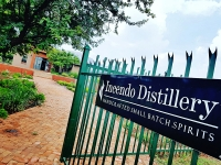 Entrance to Incendo Distillery