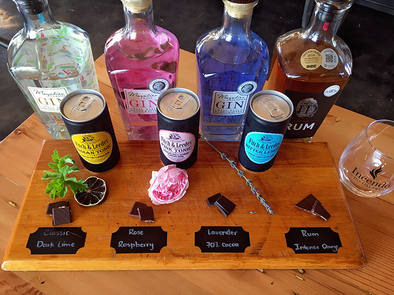 Tasting of Gin and Chocolate with Fitch and Leeds
