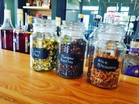 Gin Botanicals in Tasting Room