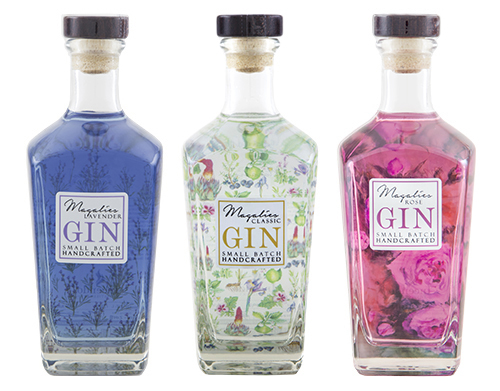 Trio of Magalies Craft Gin