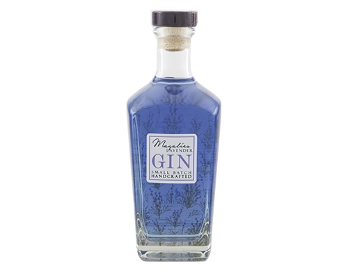 purple blue Magalies Lavender Gin from South Africa