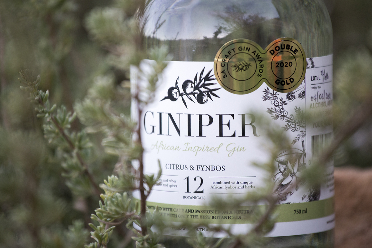 The Fynbos Gin in South Africa