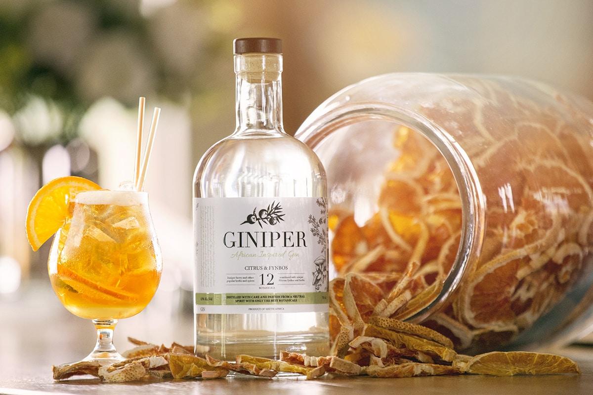 Bergamot Orange & Fynbos Gin