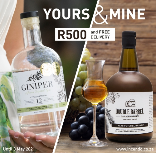 Yours & Mine Special on Gin and Brandy